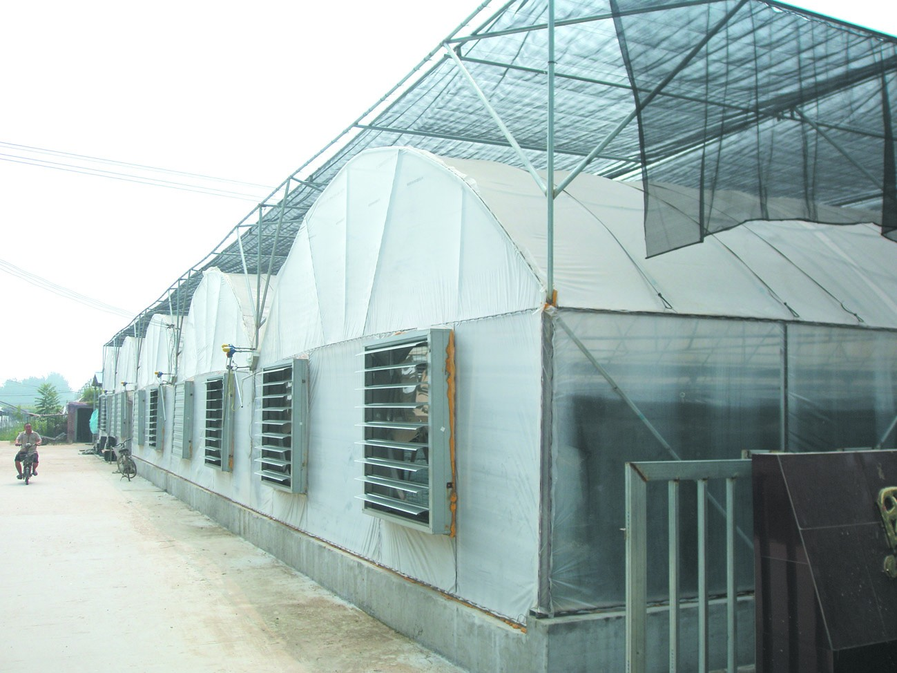薄膜连栋温室